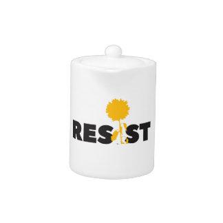 resist flower