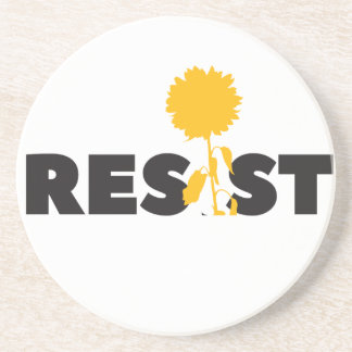 resist flower coaster