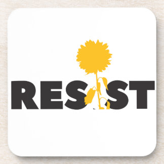 resist flower coaster