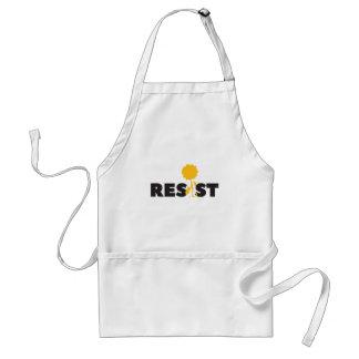 resist flower standard apron