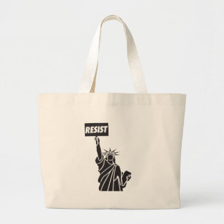 Resist_for_Liberty Large Tote Bag