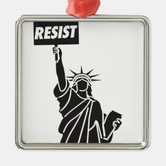 Resist_for_Liberty Metal Ornament