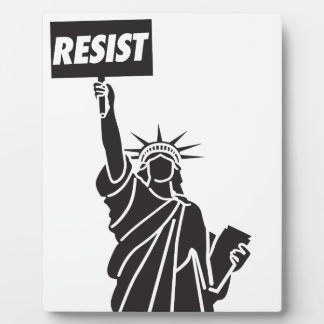 Resist_for_Liberty Plaque