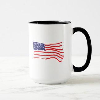 Resist hand-lettered flag and Resist design Mug