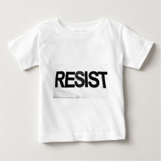 RESIST - handmade text by me rw Baby T-Shirt