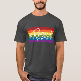 #Resist - Love Trumps Hate - Anti Donald Trump T-Shirt