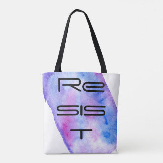 Resist, Nevertheless she Resisted rugged Tote Bag