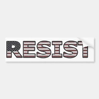 RESIST - Patriotic Bumper Sticker