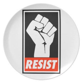 resist plate