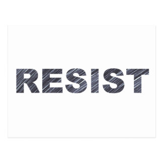Resist Postcard | Anti-Trump Letter to Congress