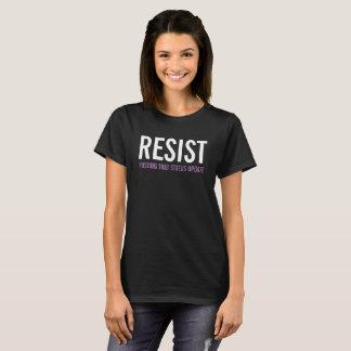 Resist posting that status update t-shirt