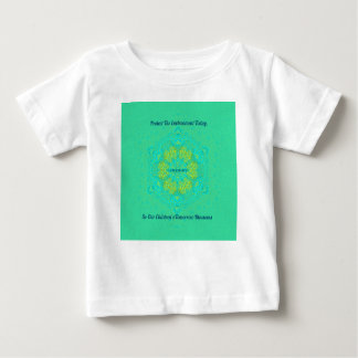 #Resist Protect Environment Anti-Trump Mandala Baby T-Shirt