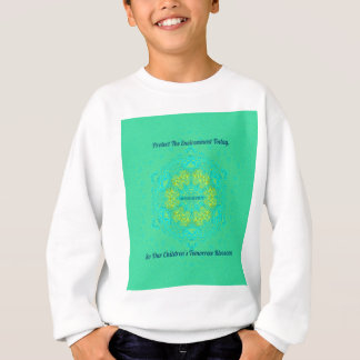 #Resist Protect Environment Anti-Trump Mandala Sweatshirt