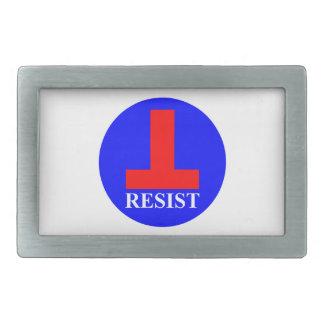 Resist Rectangular Belt Buckle