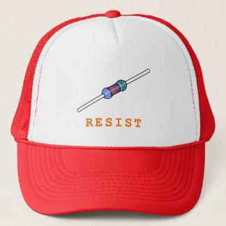 Resist Resistor Resistance Trucker Hat