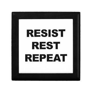 Resist, Rest, Repeat Gift Box