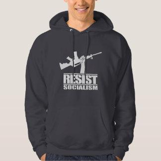 Resist Socialism Hoodie