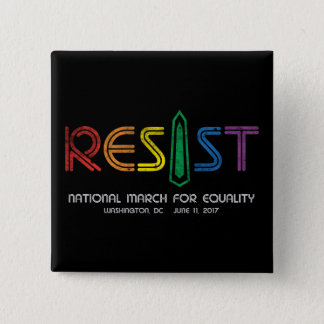 Resist Square Button