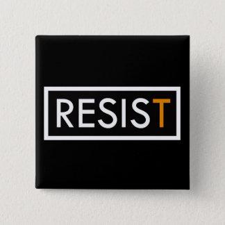 RESIST Square Button