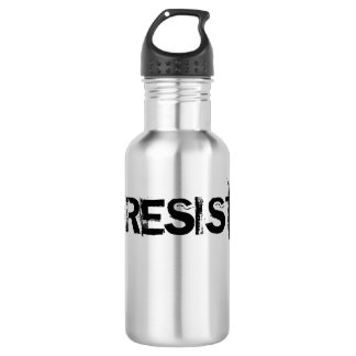 #RESIST Stainless Steel Canteen - Black Text 532 Ml Water Bottle