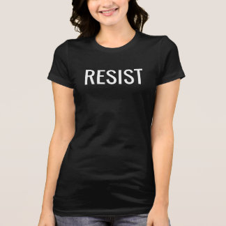 Resist t-shirt for women