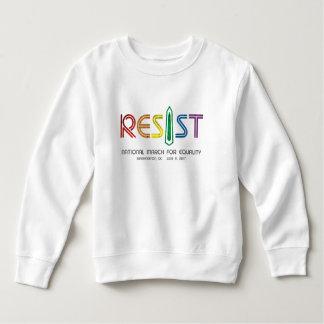 Resist Toddler Sweatshirt