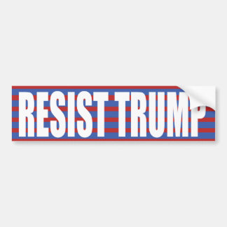 RESIST TRUMP BUMPER STICKER