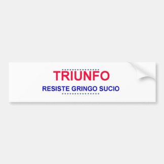 Resist Trump en espagnol Bumper Sticker
