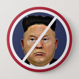 Resist Trump Jung-un! 10 Cm Round Badge
