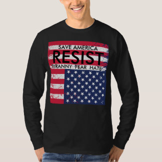 Resist Tyranny Protest T-Shirt