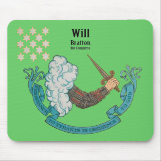 Resist Tyrants Obey God, Will Bratton Mouse Pad