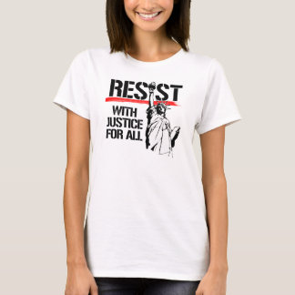 Resist with Justice for All - Resistance and Liber T-Shirt