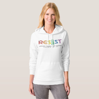 Resist Women's Fleece Pullover Hoodie