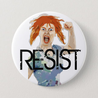 "RESIST: Women's Rights ""Anti-Trump"" Button"