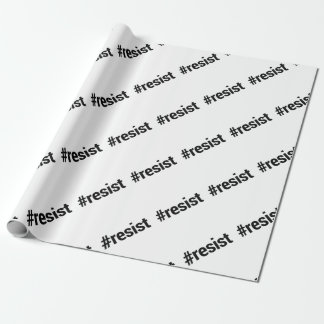 Resist Wrapping Paper