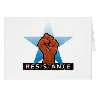 resistance card