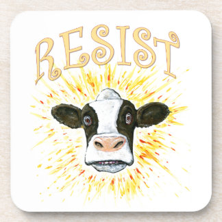 Resistance Dairy Cow Coaster
