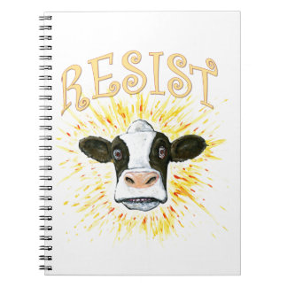 Resistance Dairy Cow Notebook