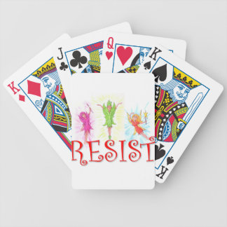 Resistance Fairies Bicycle Playing Cards
