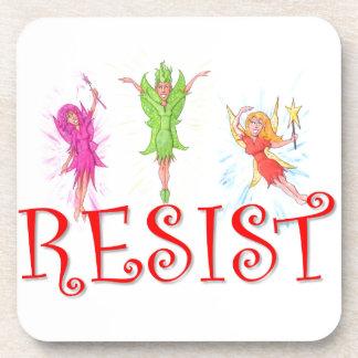 Resistance Fairies Coaster