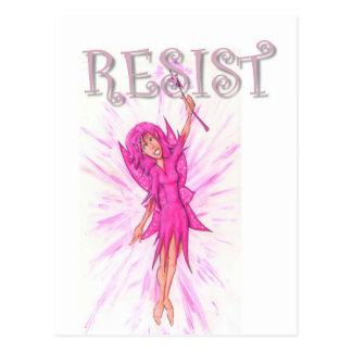 Resistance Fairy Postcard
