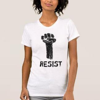 Resistance Grungy Doodle Art Tee