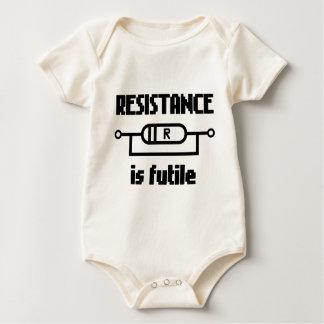 Resistance Is Futile Baby Bodysuit