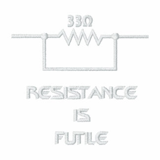 Resistance is Futile Polo Shirts