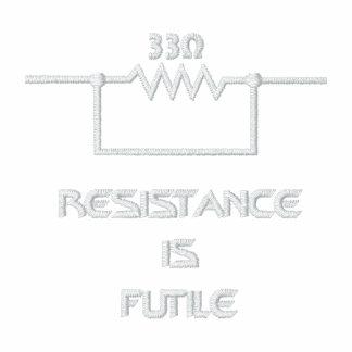 Resistance is Futile Polo Shirts