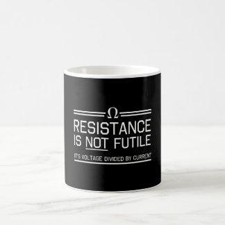 Resistance Is Not Futile Basic White Mug