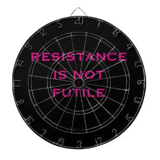 Resistance is NOT Futile Dartboard