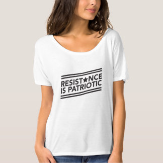 Resistance is Patriotic Slouchy Tee