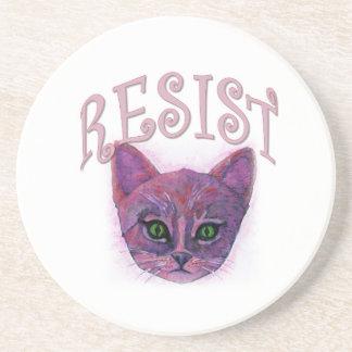 Resistance Kitten Coaster