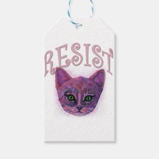 Resistance Kitten Gift Tags